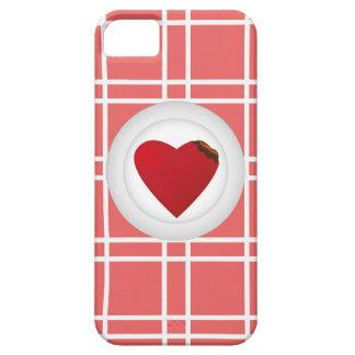 Sirva su corazón iPhone 5 carcasas
