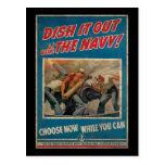 Sírvalo hacia fuera con la marina de guerra postal