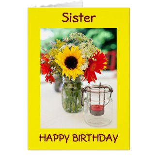 SIS, BEST FRIEND, CONFIDANTE/LOVE ON BIRTHDAY CARD