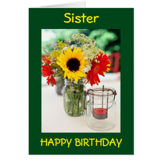 SIS, BEST FRIEND, CONFIDANTE/LOVE ON BIRTHDAY CARD