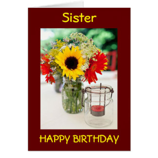 SIS, BEST FRIEND, CONFIDANTE/SHOP BUDDY BIRTHDAY CARD