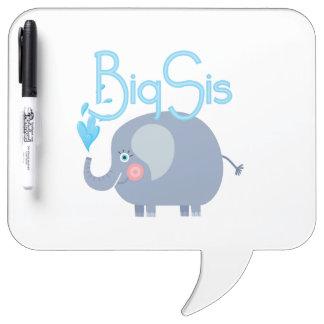 SIS grande del elefante Tableros Blancos
