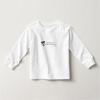 sis is a mini schnauzer t-shirt