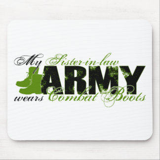 Sis law Combat Boots - ARMY Mouse Pad