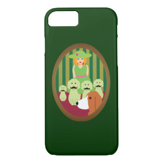 Sis & P and the Mustached Dogs of Mystery iPhone 7 Case
