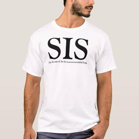 SIS - Sister of the Bride  Wedding TShirt