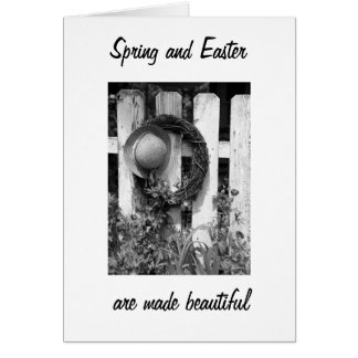 **SIS** SPRING/EASTER SPECIAL BECASUE OF YOU CARD