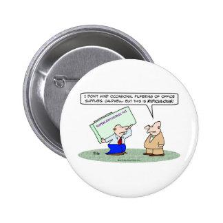 sise la máquina de la copia de los materiales de o pin redondo 5 cm