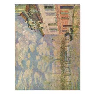 Sisley, Alfred Kahn in der ?berschwemmung 1876 Tec Postcard
