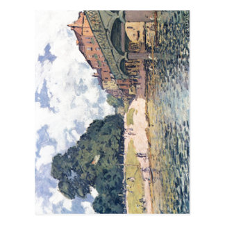 ¿Sisley, Br de Alfred? Hampton Court de von del ck Postal