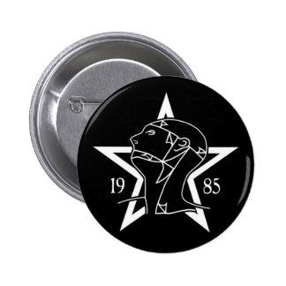 Sissies '85 pinback button