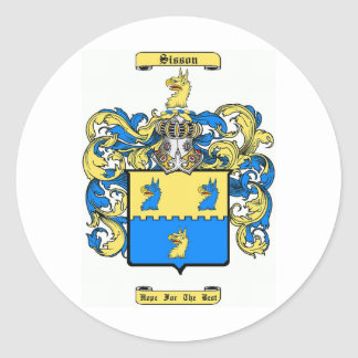 sisson classic round sticker