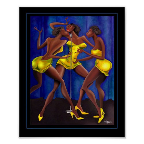 Sistah Girls Poster print
