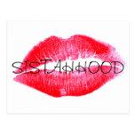 Sistahhood y nosotros somos potentes juntos postal