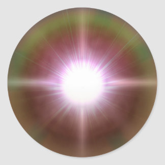 Sistema 4 pegatinas redondas