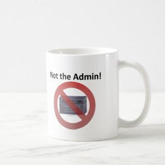 Sistema Admin Taza De Café