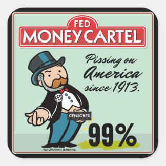 Sistema anti del pegatina de Federal Reserve