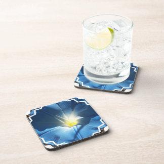 Sistema azul de la correhuela de prácticos de cost posavasos de bebidas