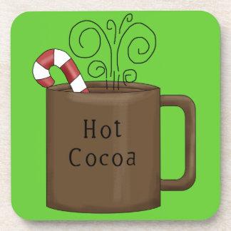 Sistema caliente del práctico de costa del cacao posavasos