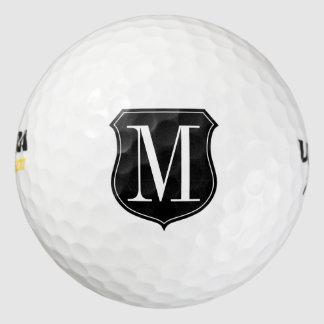 Sistema con monograma con clase personalizado de pack de pelotas de golf