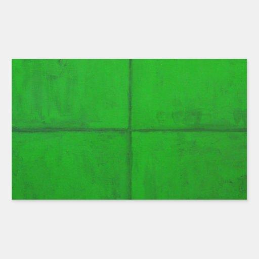 Sistema coordinado verde natural (minimalism rectangular altavoz