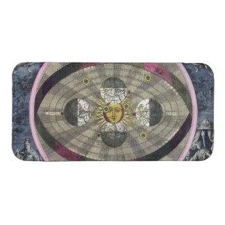 Sistema Copernican del universo Funda Acolchada Para iPhone
