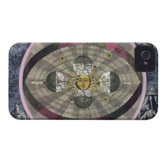 Sistema Copernican del universo iPhone 4 Funda