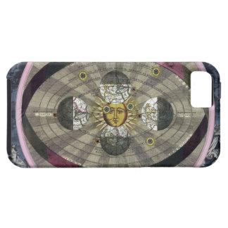 Sistema Copernican del universo iPhone 5 Carcasa