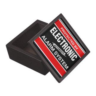 Sistema de alarma electrónico cajas de joyas de calidad