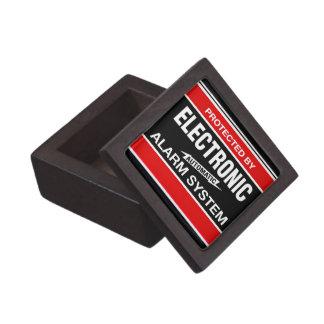 Sistema de alarma electrónico caja de regalo de calidad