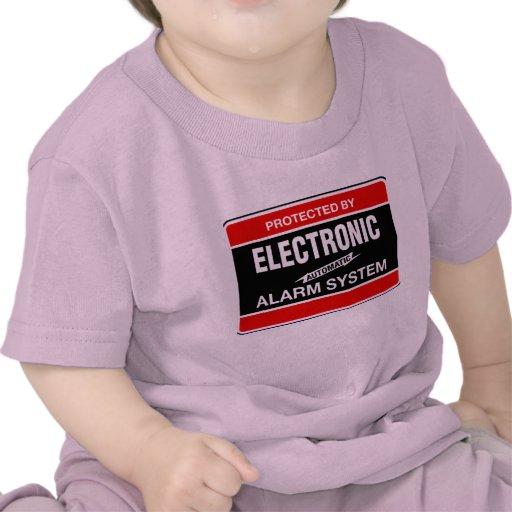 Sistema de alarma electrónico camisetas