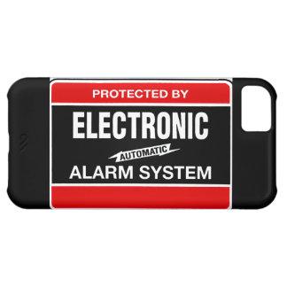 Sistema de alarma electrónico funda para iPhone 5C