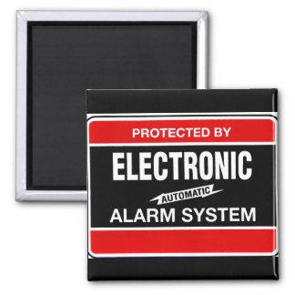 Sistema de alarma electrónico imán cuadrado