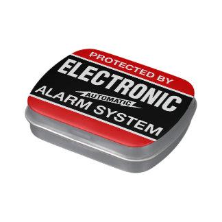 Sistema de alarma electrónico jarrones de dulces