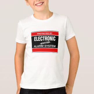 Sistema de alarma electrónico playera