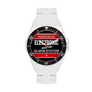 Sistema de alarma electrónico relojes