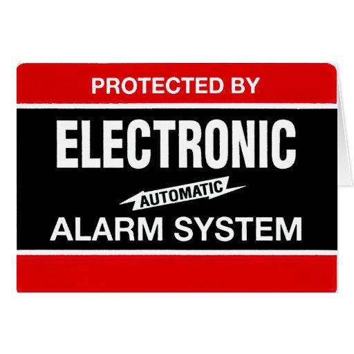 Sistema de alarma electrónico tarjeta pequeña