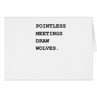 Sistema de alarma insustancial de las reuniones tarjeta