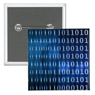 Sistema de base de datos para los informes y el pin cuadrado