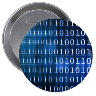 Sistema de base de datos para los informes y el pin redondo de 4 pulgadas
