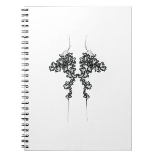 Sistema de curvas gemelas en un cuaderno