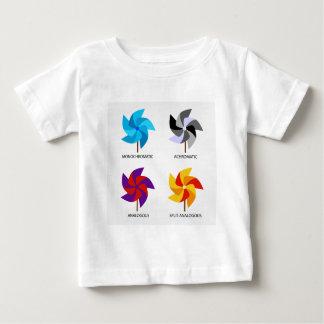 Sistema de esquemas de color t-shirt
