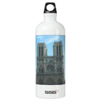 Sistema de la decoración de Notre Dame Botella De Agua