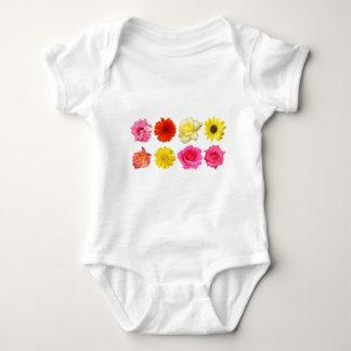 sistema de la flor body para bebé
