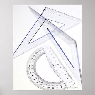 Sistema de la geometría posters