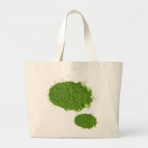 Sistema de la hierba verde ECO Bolsa Tela Grande