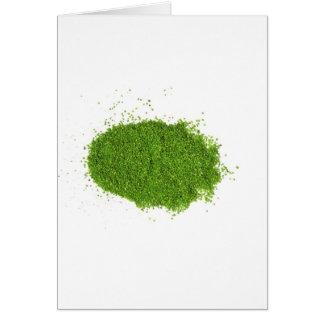 Sistema de la hierba verde ECO Tarjeton