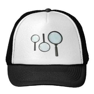 sistema de la lupa gorra
