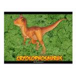 Sistema de la postal del Cryolophosaurus