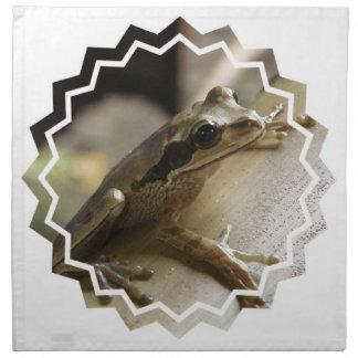 Sistema de la rana arbórea de servilletas